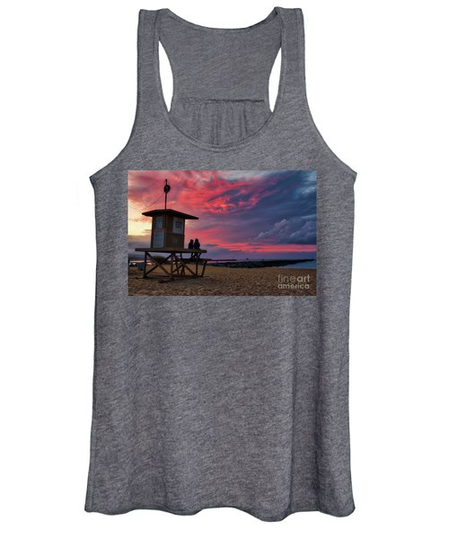 The Last Sunrise Of 2018 At The Wedge Women's Tank Top