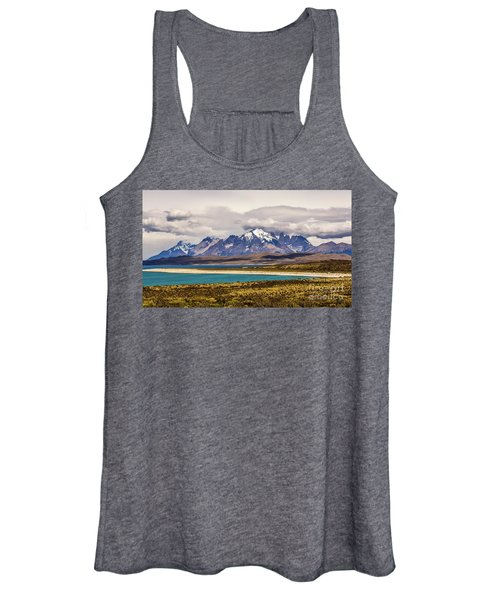 The Mountains Of Torres Del Paine National Park, Chile Women's Tank Top