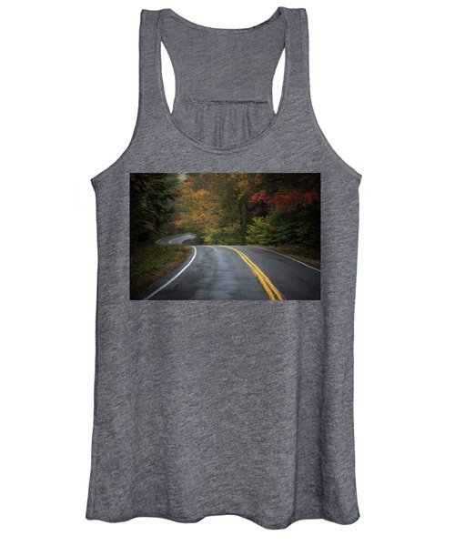 The Road To Friends Lake Women's Tank Top