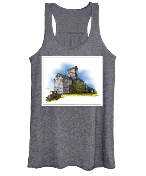 The Ross Elevator Autumn Women's Tank Top