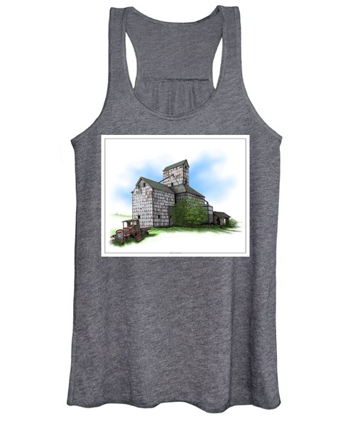 The Ross Elevator Summer Women's Tank Top