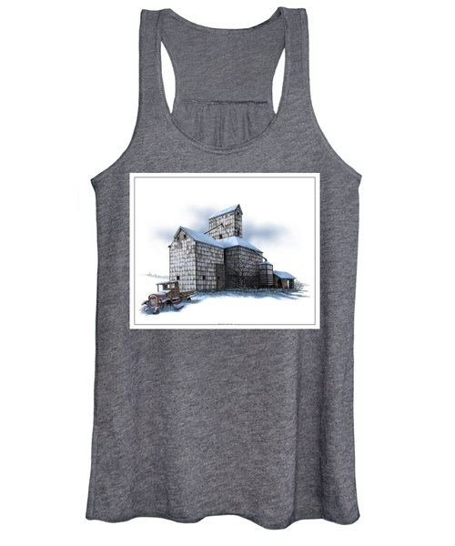 The Ross Elevator Winter Women's Tank Top