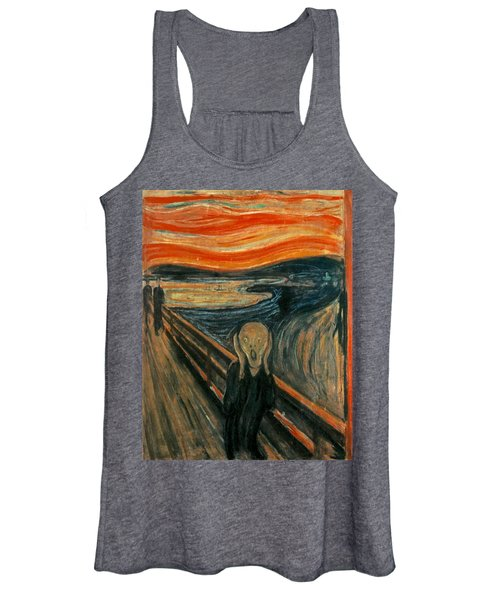 The Scream  Women's Tank Top