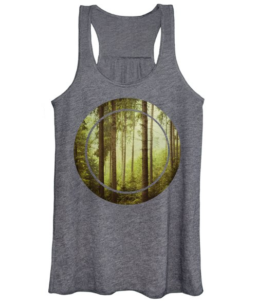 The Small And The Tall - Fir Forest Women's Tank Top