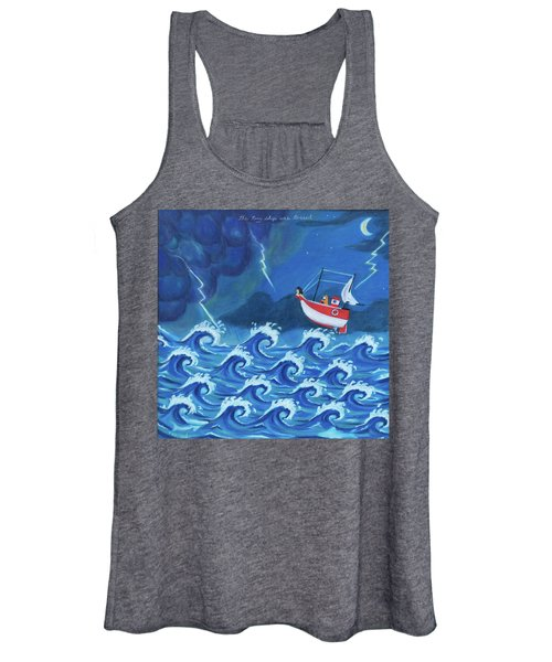 The Tiny Ship Was Tossed Women's Tank Top