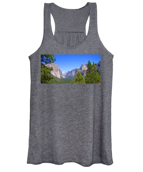 The Valley Of Inspiration-yosemite Women's Tank Top