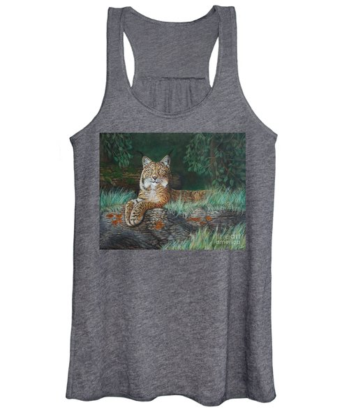 The Wild Cat  Women's Tank Top
