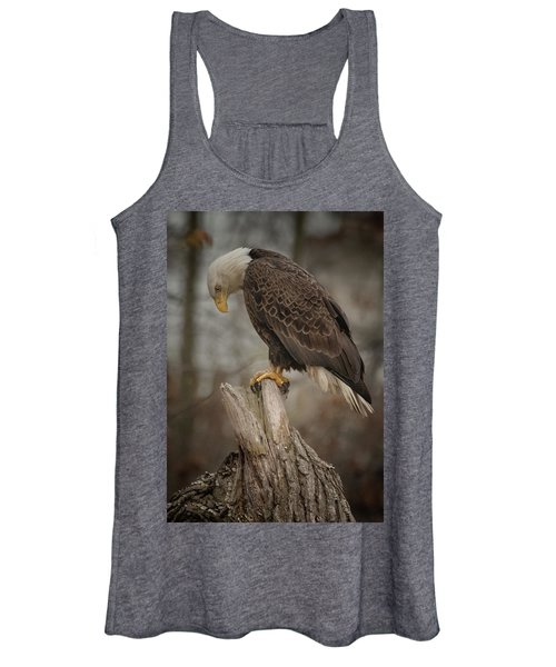 Tired Eagle Dad  Women's Tank Top
