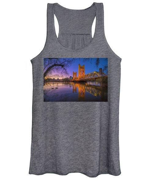 Tower Bridge At Sunrise - 4 Women's Tank Top