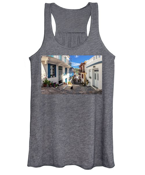Town Of Skopelos Women's Tank Top