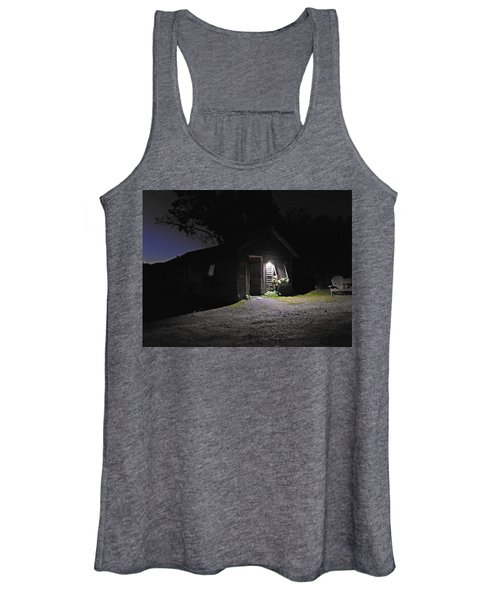 Trapp Family Lodge Cabin Sunrise Stowe Vermont Photo Women's Tank Top