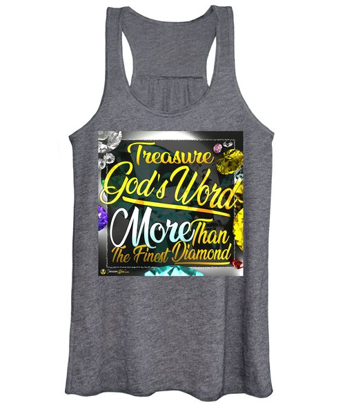 Treasure God's Word Women's Tank Top