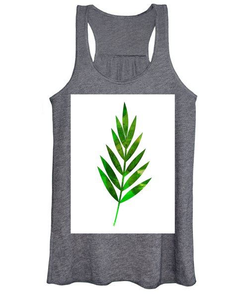 Tropical Leaf I Women's Tank Top