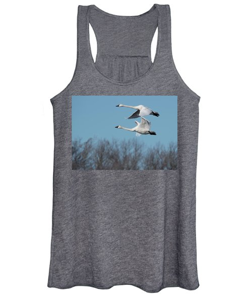 Tundra Swan Duo Women's Tank Top