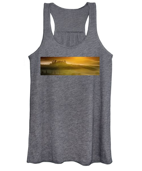 Tuscany In Gold Women's Tank Top
