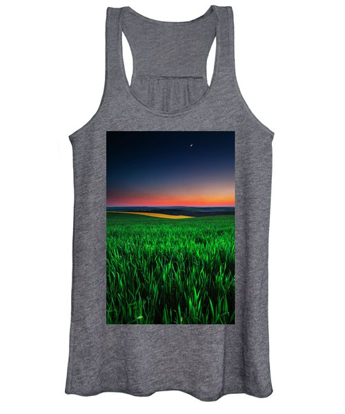 Twilight Fields Women's Tank Top