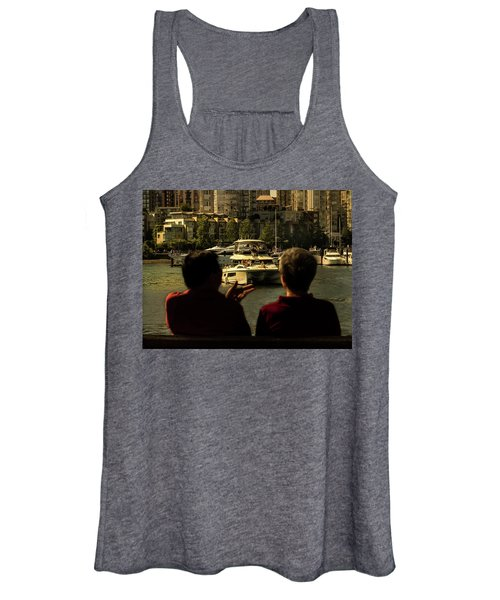 Two Friends At The Vancouver Bay Women's Tank Top