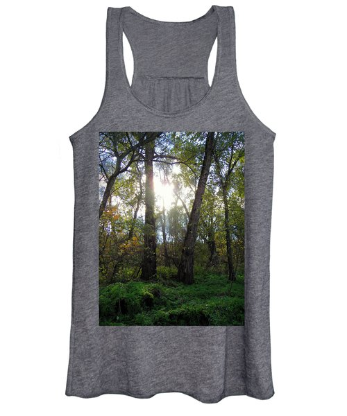 Two Steps Behind Women's Tank Top