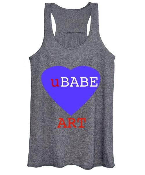 uBABE Blue Love Women's Tank Top