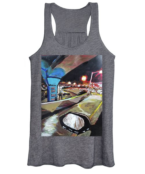 Underpass At Nighht Women's Tank Top