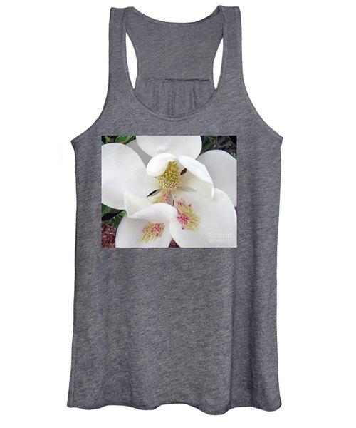 Unfolding Beauty Of Magnolia Women's Tank Top