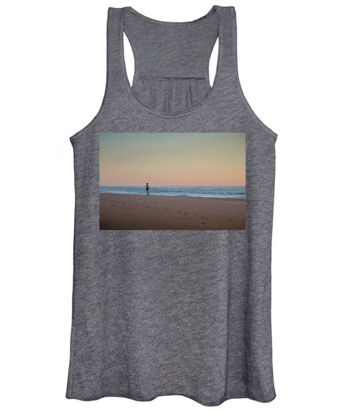Up And Running Women's Tank Top