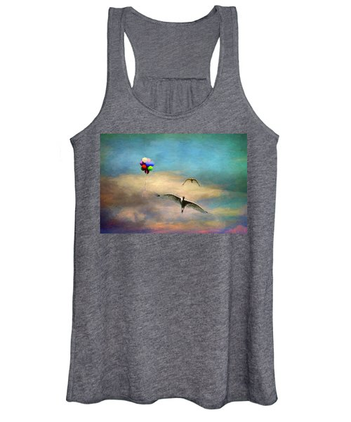 Up Up And Away Women's Tank Top