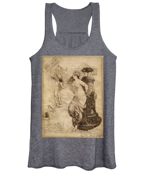 Venus Weigh Cupid Women's Tank Top