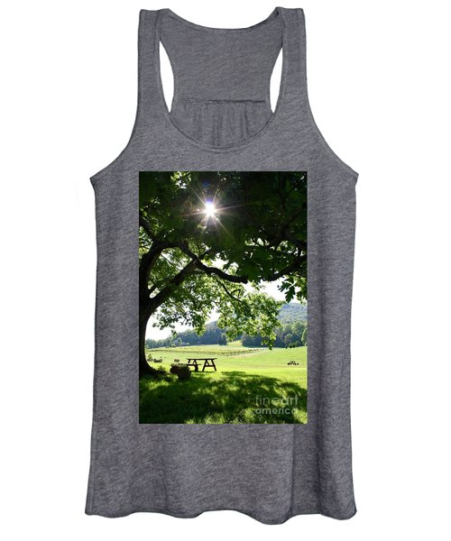 Vineyard In Georgia Women's Tank Top