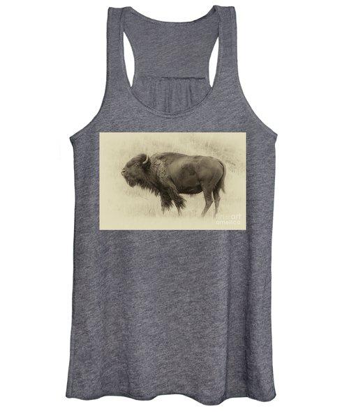 Vintage Bison I Women's Tank Top