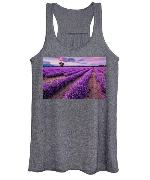 Violet Dreams Women's Tank Top