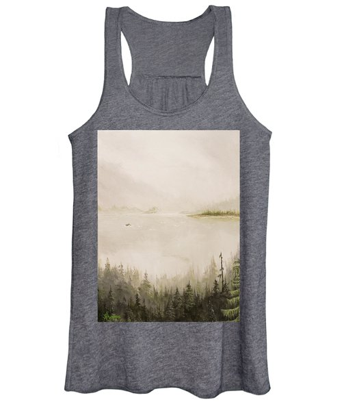 Waiting For The Eagle To Come Women's Tank Top