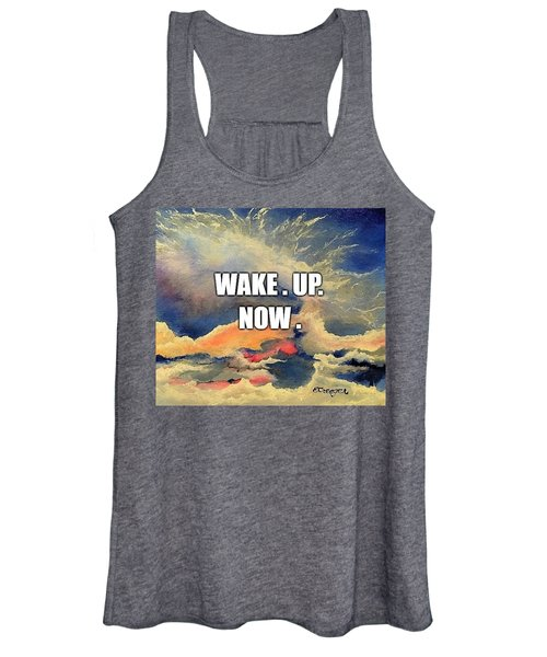 Wake. Up. Now. Women's Tank Top