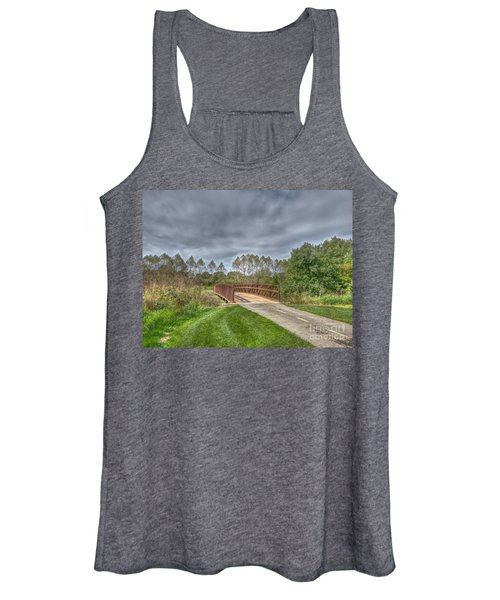 Walnut Woods Bridge - 2 Women's Tank Top