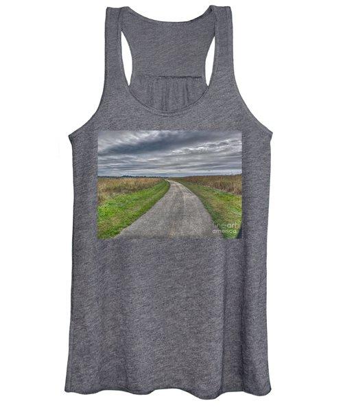 Walnut Woods Pathway - 1 Women's Tank Top