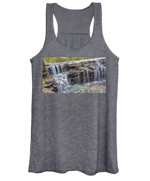 Waterfall @ Sharon Woods Women's Tank Top