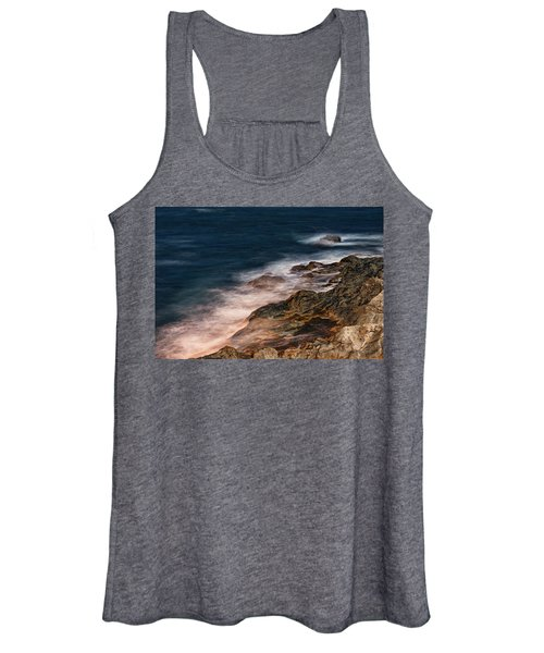 Waves And Rocks At Sozopol Town Women's Tank Top