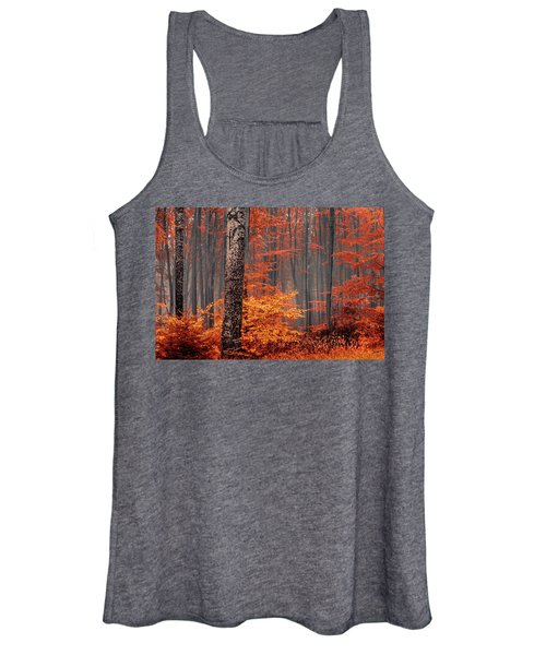 Welcome To Orange Forest Women's Tank Top