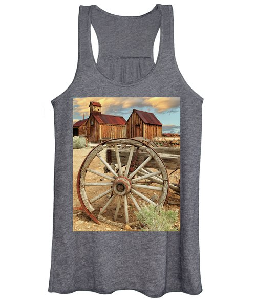 Wheels And Spokes In Color Women's Tank Top