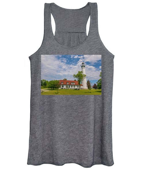 Wind Point Lighthouse  Women's Tank Top