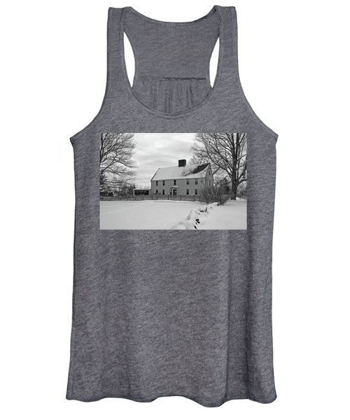 Winter At Noyes House Women's Tank Top