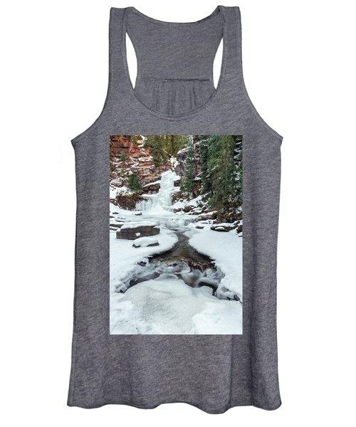 Winter Falls Women's Tank Top