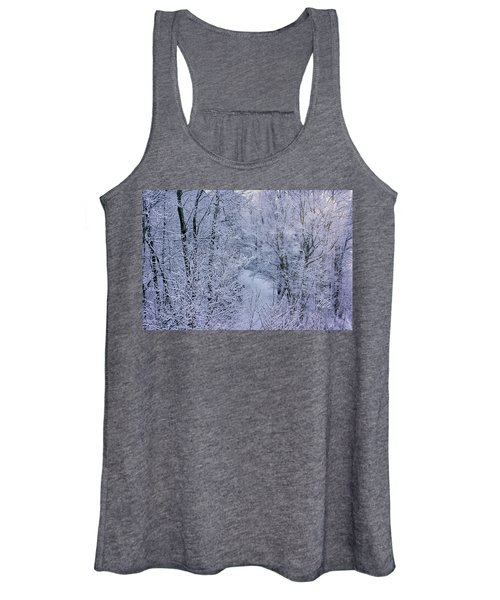 Winter Ice Storm Women's Tank Top