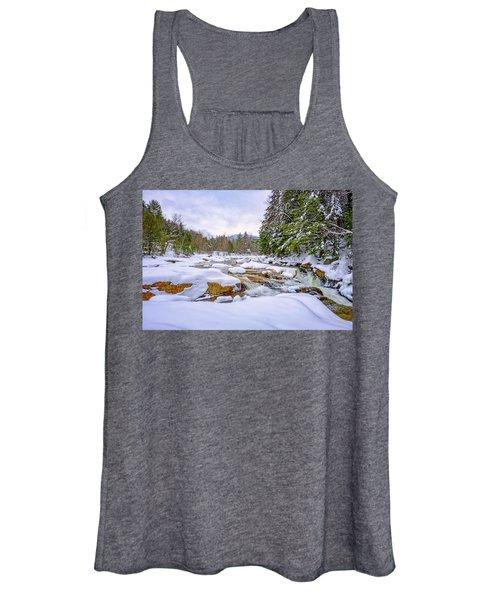 Winter On The Swift River. Women's Tank Top