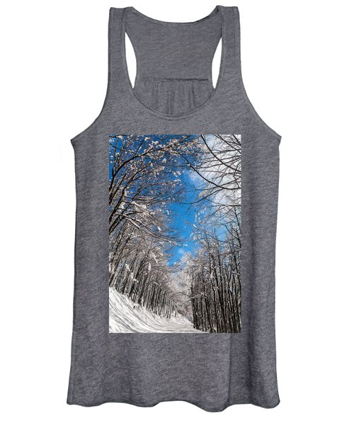 Winter Road Women's Tank Top