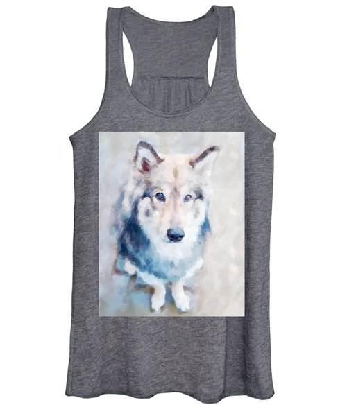 Wolfdog Women's Tank Top