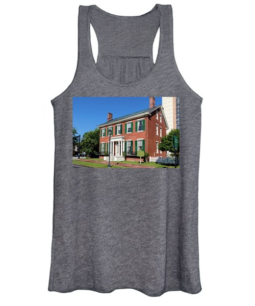 Woodrow Wilson Boyhood Home - Augusta Ga 3 Women's Tank Top