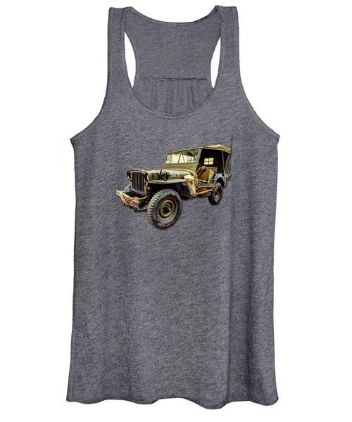 Ww2 Jeep Women's Tank Top
