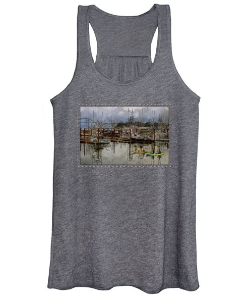 Yaquina Bay Kayaking Women's Tank Top