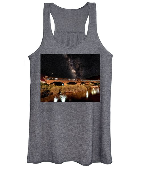 Yonghe Bridge Milky Way Women's Tank Top